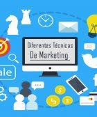 diferentes tecnicas de marketing